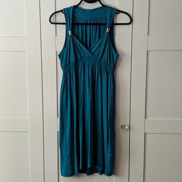 ❄️ 3/$25 Teal Blue Green Summer Dress